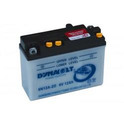 DYNAVOLT 6N12A-2D (01225) 12Ач аккумулятор