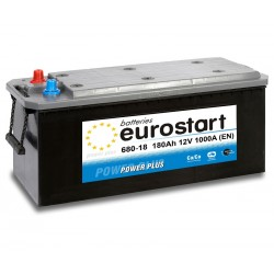EUROSTART POWER PLUS 68018 180Ah battery
