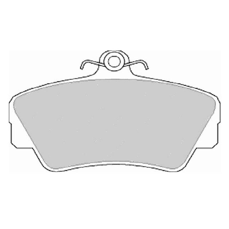 Diskinės stabdžių trinkelės EGT 321452