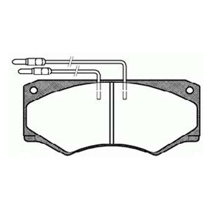 Disk brake pads FTH 492 (EGT 321437)