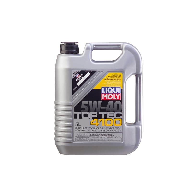 Синтетическое моторное масло Top Tec 4100 LIQUI MOLY 9511