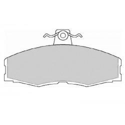 Дисковые тормозные колодки FTH 275 (EGT 321416)