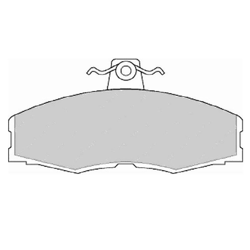 Disk brake pads FTH 275 (EGT 321416)