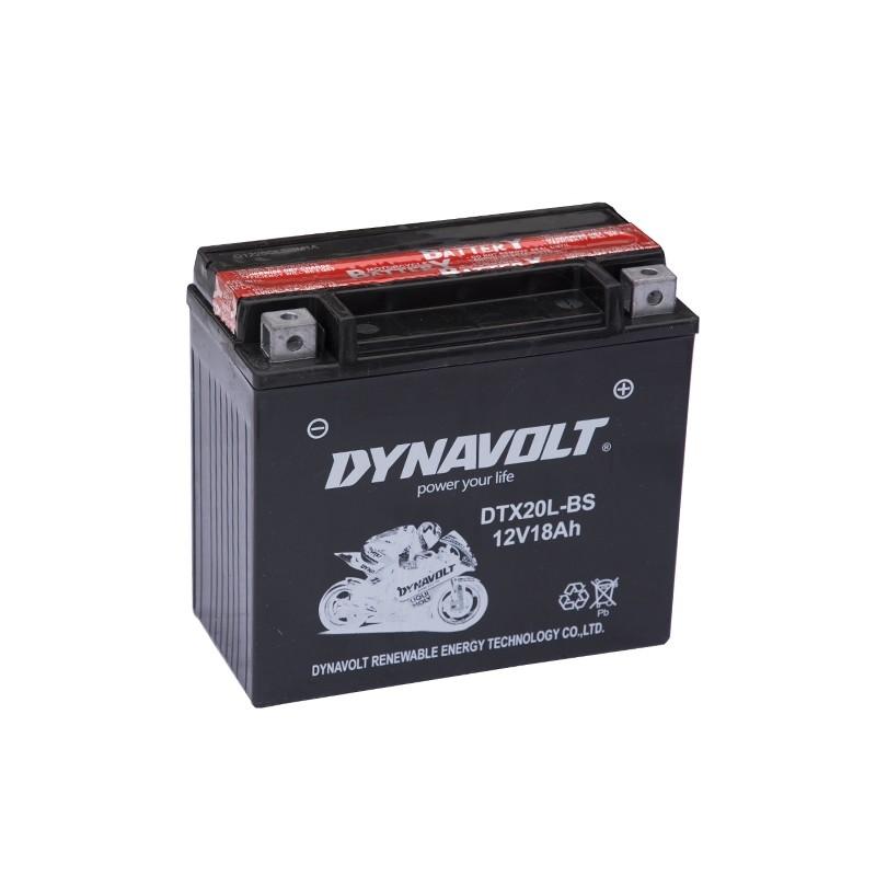 DYNAVOLT DTX20L-BS (51801) 18Ач аккумулятор
