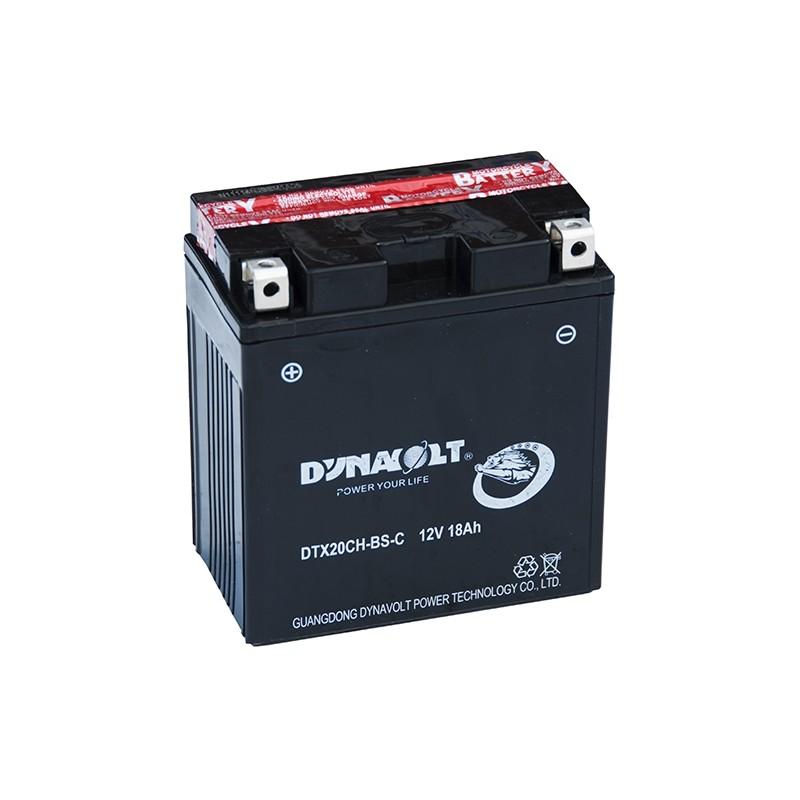 DYNAVOLT DTX20CH-BS 18Ah akumuliatorius