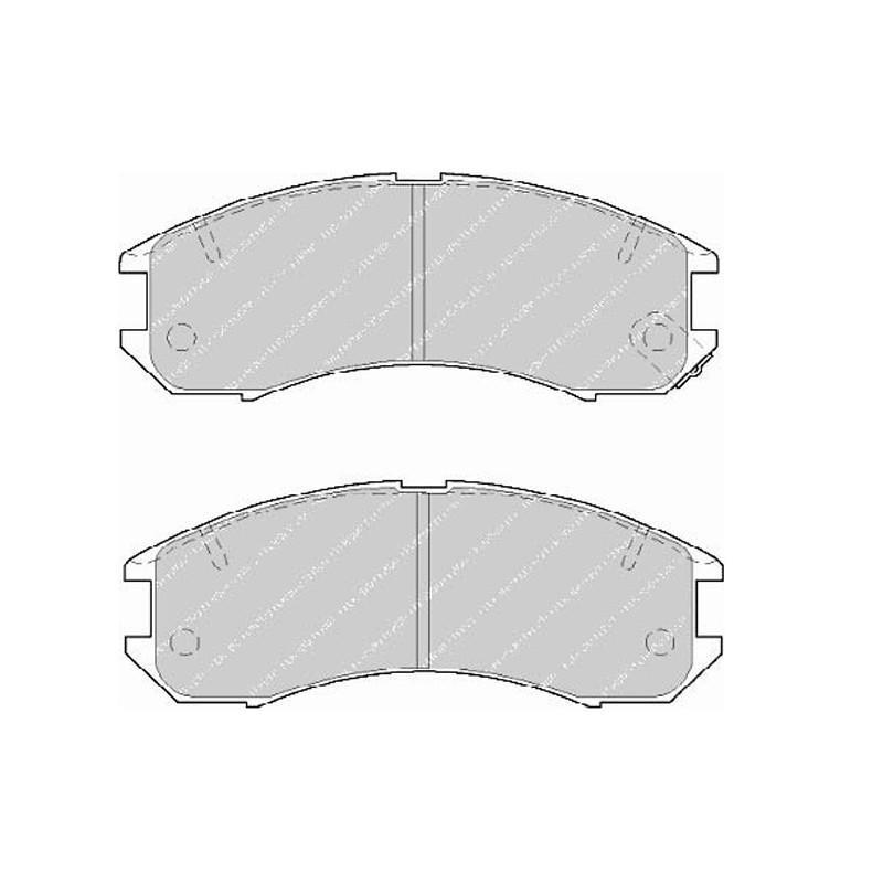 Diskinės stabdžių trinkelės EGT 321462