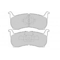 Diskinės stabdžių trinkelės EGT 321495