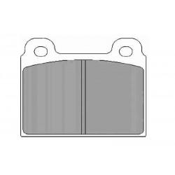 Дисковые тормозные колодки FTH 084 (EGT 321392)