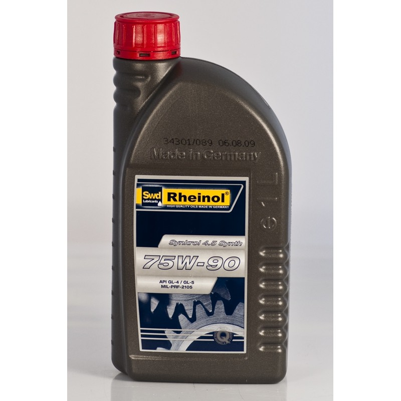 Fully synthetic transmision oil for manual gearbox SWD RHEINOL Synkrol 4.5 75W-90 (1 ltr)
