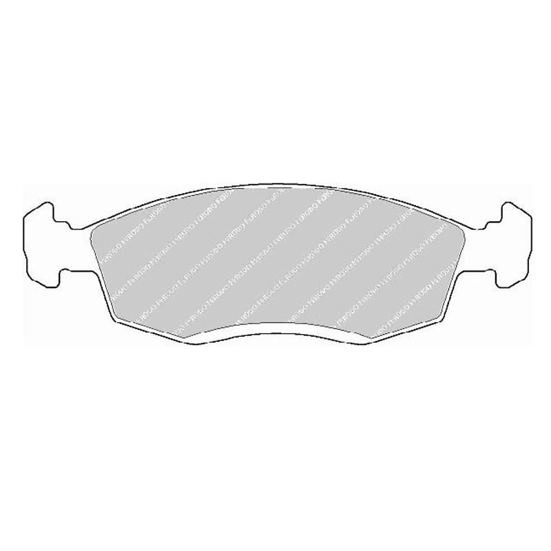 Disk brake pads EGT 321520
