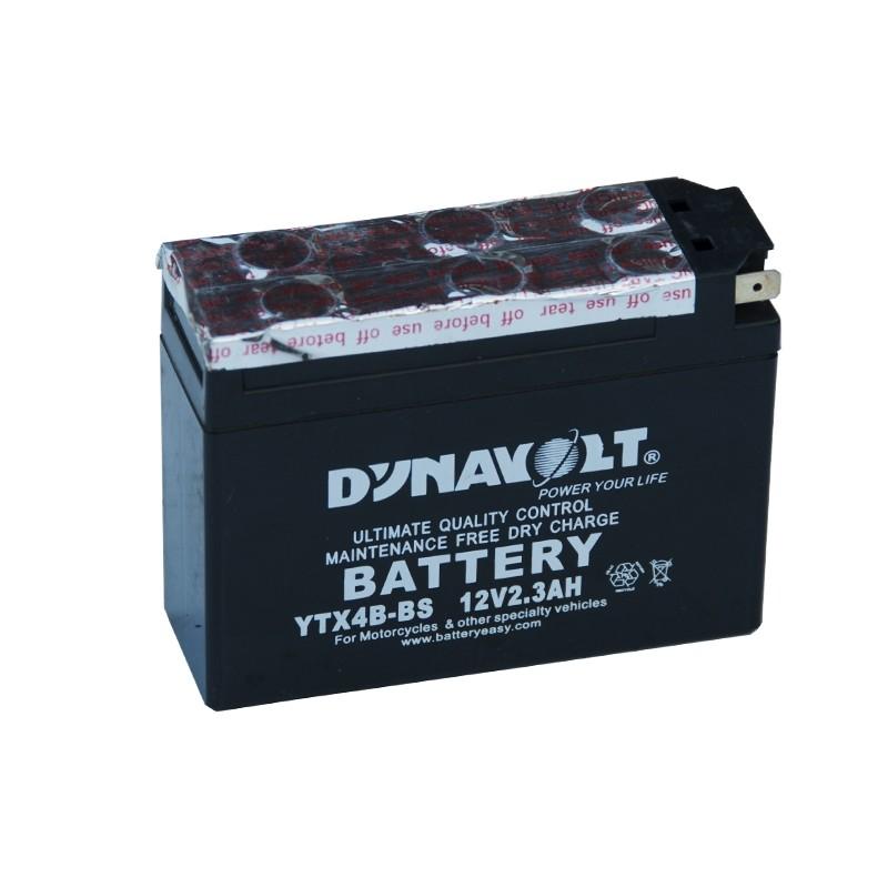 DYNAVOLT-DTX4B-BS 2.3Ач аккумулятор