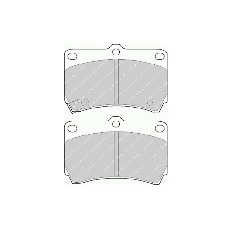 Disk brake pads EGT 321479