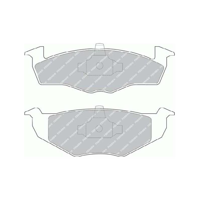 Disk brake pads FTH 1054 (EGT 321490)