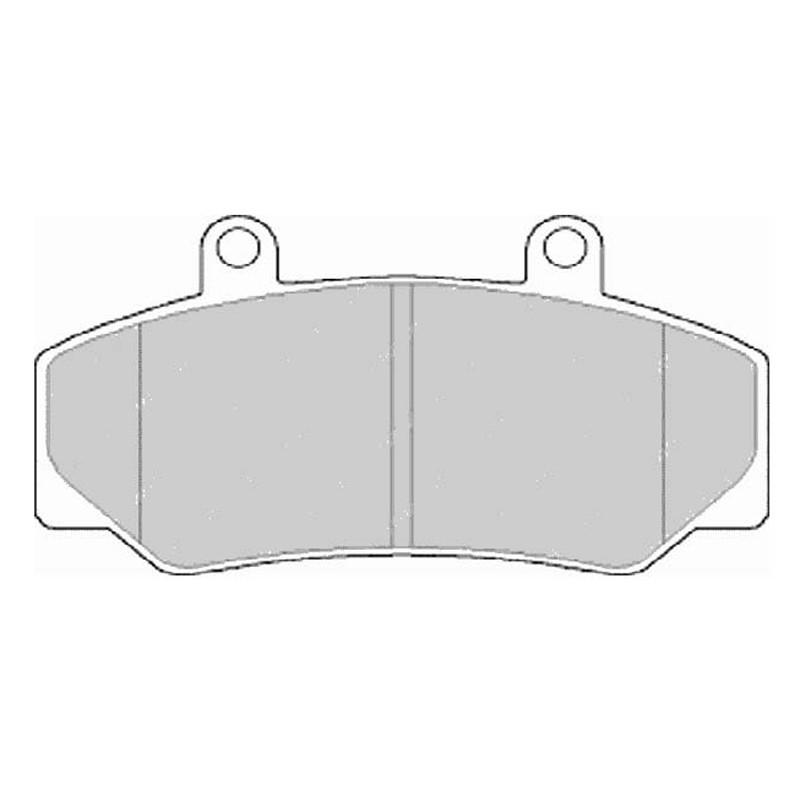 Diskinės stabdžių trinkelės FTH 628 (EGT 321453)