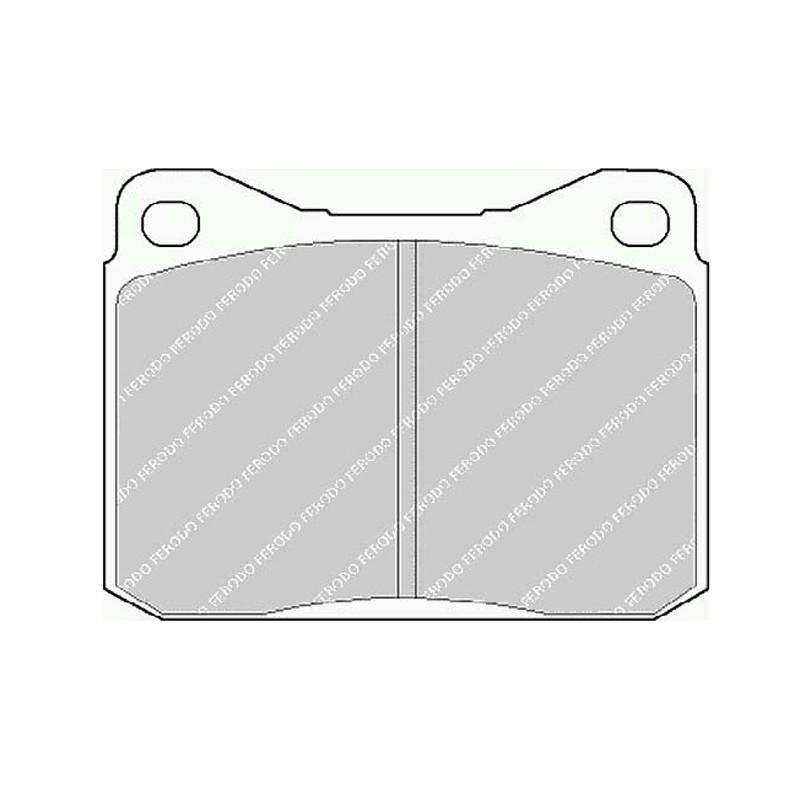 Disk brake pads FTH 129 (EGT 321400)