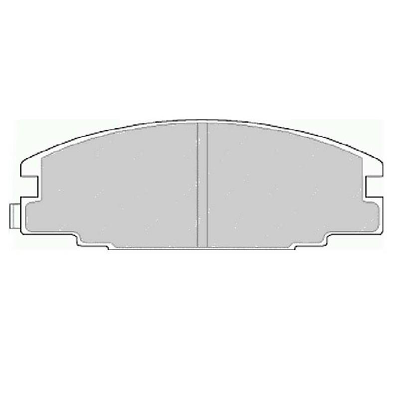 Diskinės stabdžių trinkelės EGT 321472
