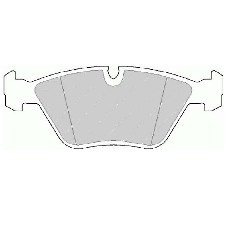 Disk brake pads EGT 321432