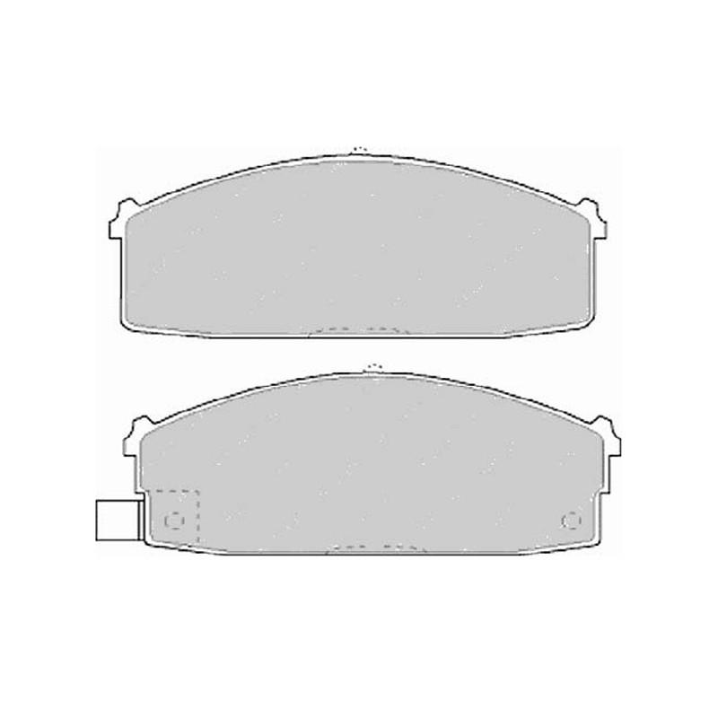 Disk brake pads FTH 717 (EGT 321507)