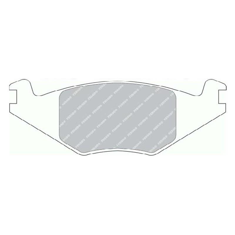 Disk brake pads EGT 321421