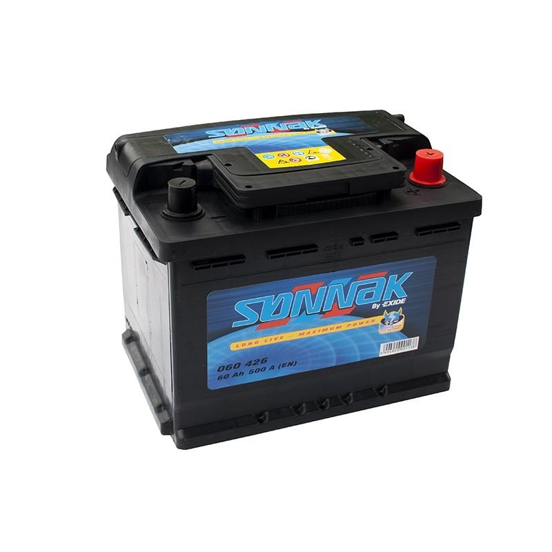 SONNAK 060426 60Ah battery