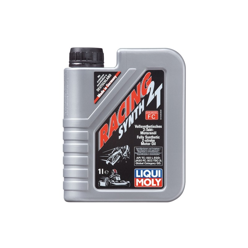 Synthetic motorcycle motor oil RACING SYNTH 2T  LIQUI MOLY 1505