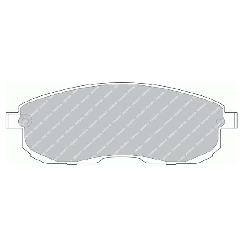 Disk brake pads FTH 691 (EGT 321473)