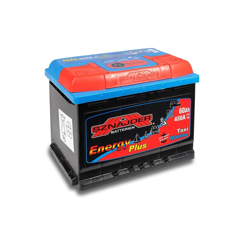 SZNAJDER ENERGY PLUS 956-07 60Ah battery