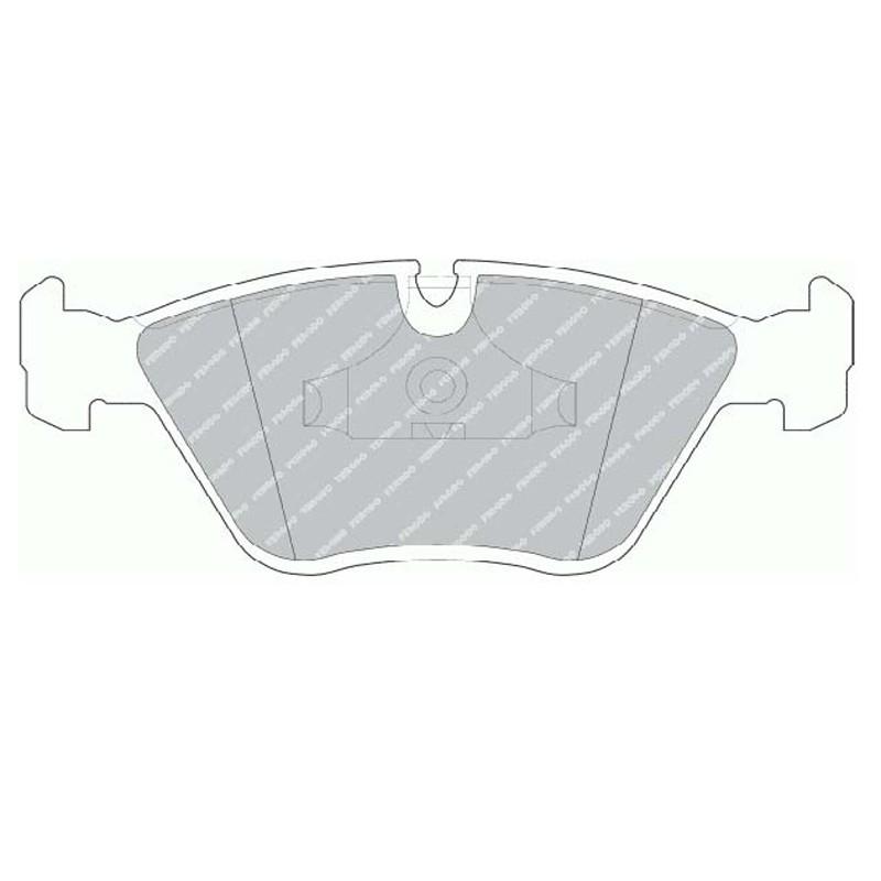 Disk brake pads EGT 321433