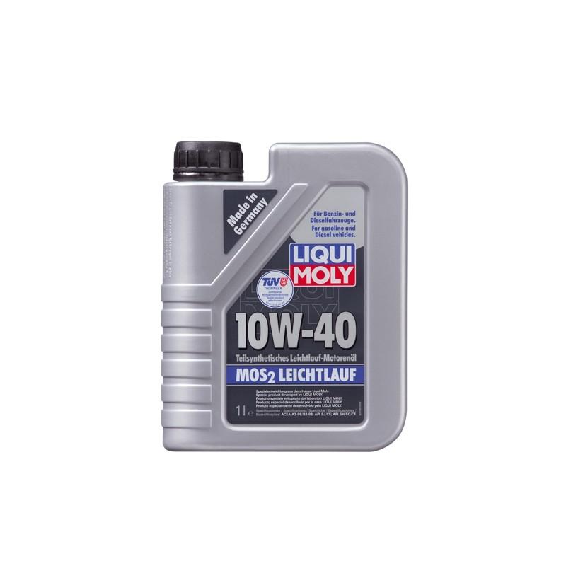 Полусинтетическое моторное масло с MoS2 SAE 10W-40 LIQUI MOLY 1091