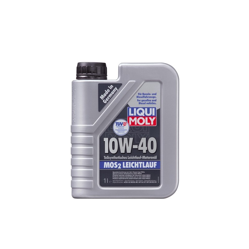 Semi-synthetic motor oil with MoS2 SAE 10W-40LIQUI MOLY 1091