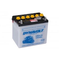 DYNAVOLT 12N24-3A (52815) 24Ач аккумулятор