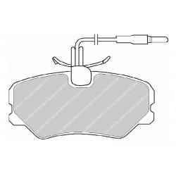 Diskinės stabdžių trinkelės EGT 321451
