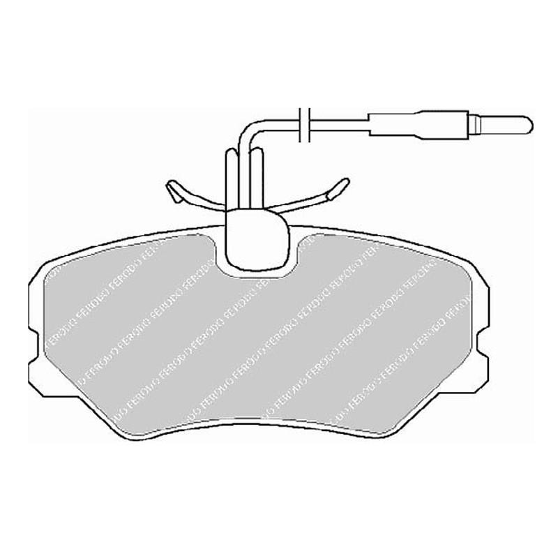 Дисковые тормозные колодки EGT 321451
