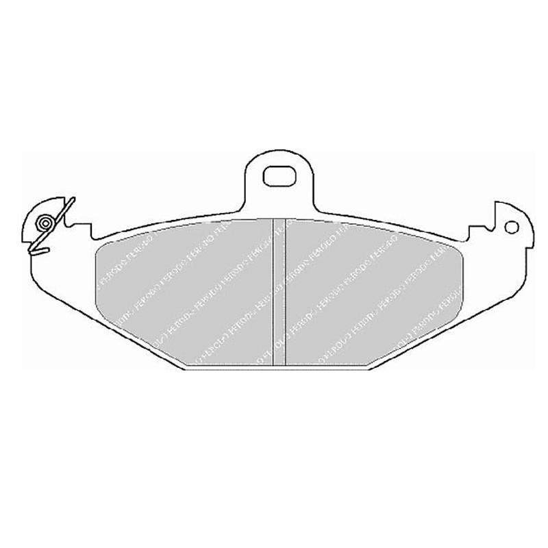 Disk brake pads EGT 321548