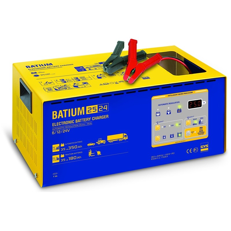 Battery charger GYS-BATIUM-25/24