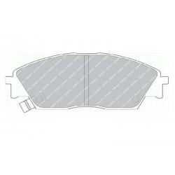 Disk brake pads FTH 598 (EGT 321457)