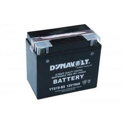 DYNAVOLT YTX19-BS 19Ач аккумулятор