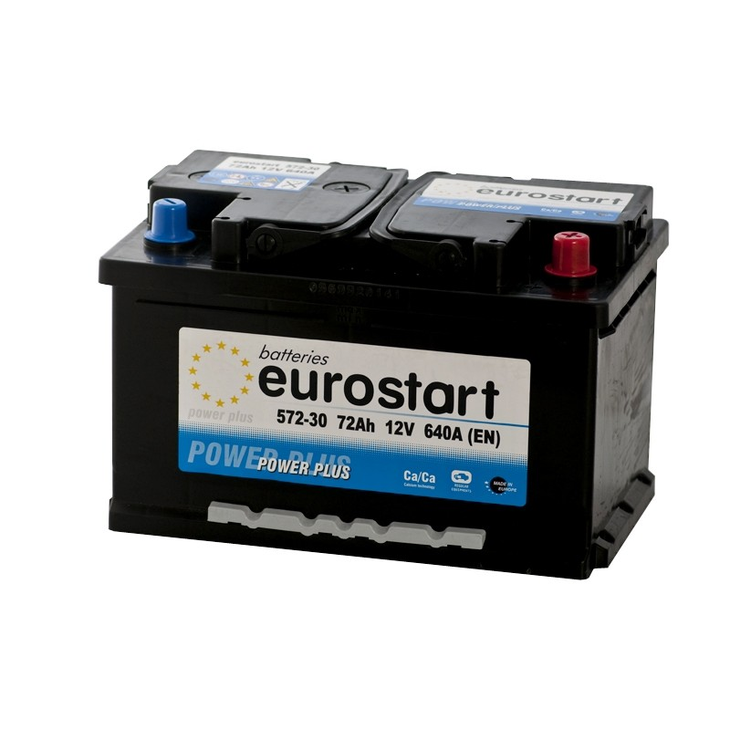 EUROSTART POWER PLUS 57230 72Ah akumuliatorius