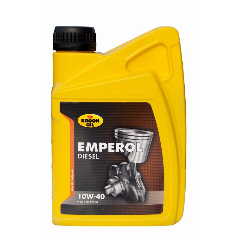 Synthetic motor oil KROON OIL Emperol Diesel 10W/40 (1 ltr.)