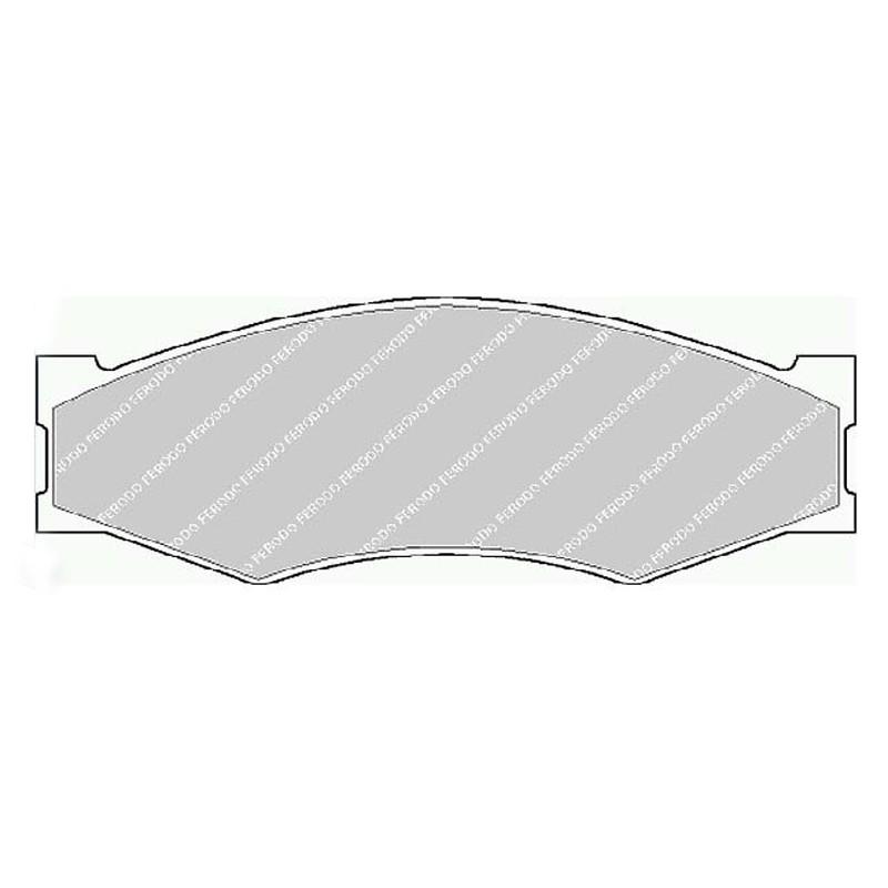 Disk brake pads FTH 340 (EGT 321440)