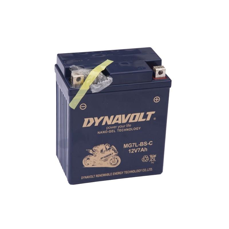 DYNAVOLT MG7L-BS 6Ah akumuliatorius