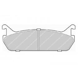 Disk brake pads EGT 321505