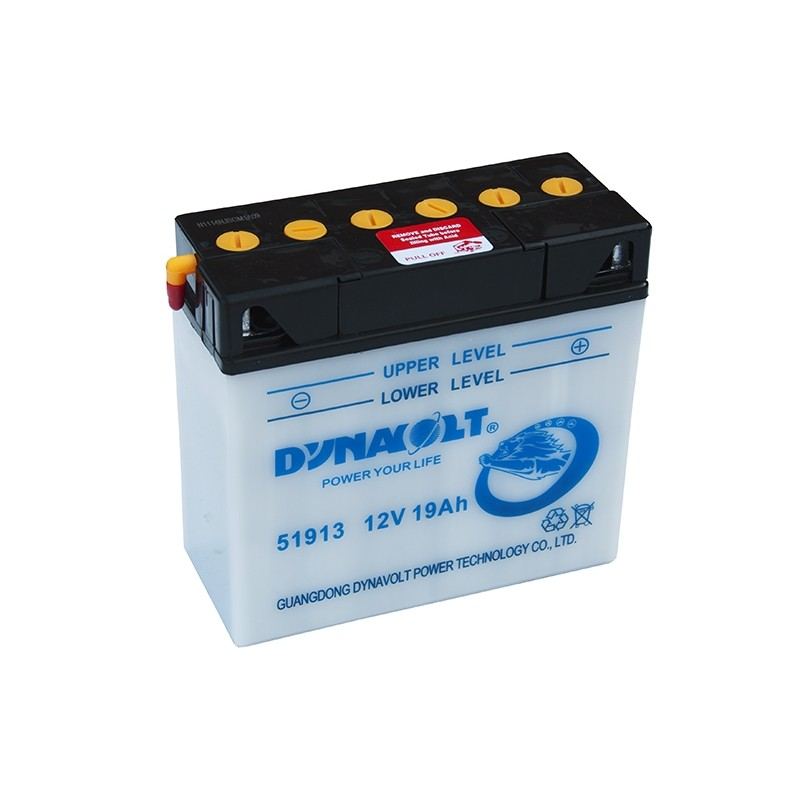 DYNAVOLT 12N19AH (51913) 19Ah battery