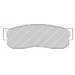Disk brake pads FTH 293 (EGT 321429)