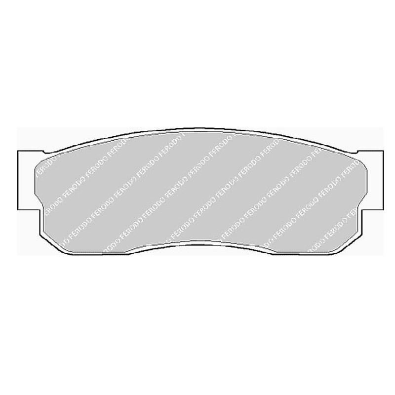 Diskinės stabdžių trinkelės FTH 293 (EGT 321429)
