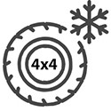 Winter SUV / crossover tires