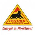 Panther batterien gamintojo logotipas
