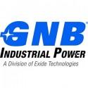 GNB (Exide) gamintojo logotipas