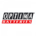 Optima batteries gamintojo logotipas