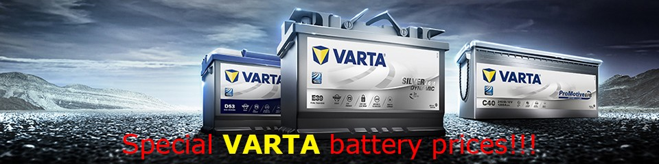Special VARTA battery prices!!!